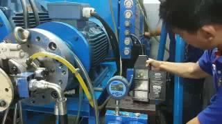 Test Piston Pump