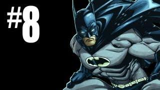 Batman Arkham Asylum Gameplay Walkthrough - Part 8 - FINGERPRINTS!! (Batman Arkham Gameplay HD)