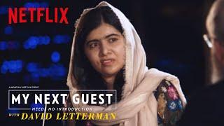 David and Malala Yousafzai Sound Off on Trump | My Next Guest Needs No Introduction | Netflix