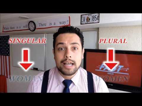 Pronúncia de women e plural irregular
