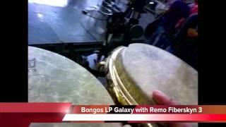 Roberto Serrano Percussion Set, Tour 2011 (Colombia)