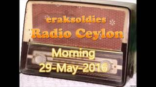 Radio Ceylon 29-05-2016~Saturday Morning~01 Film Sangeet