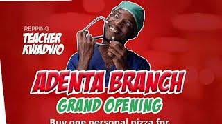 Teacher Kwadwo VS Bukom Banku (about eddy's pizza going for ¢1)