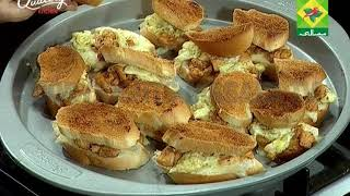 Panasonic Quality Kitchen [Masala TV] Chicken Wings Cream Sauce and Chicken Corn Sandwich