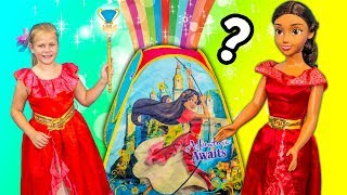 ELENA OF AVALOR Surprise Tent Paw Patrol + Spirit Horse + Wiggles + Puppy Dog Pals Toys Video
