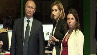 زيارة الرئيس فلاديمير بوتين لقناة