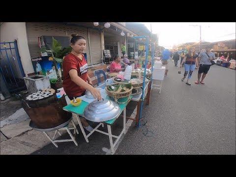 Xxx Mp4 Asian Street Food At Khemmarat Evening Market Thai Food 3gp Sex