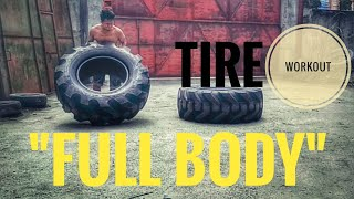 OUTDOOR TIRE WORKOUT || STRONG MEN💪