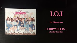 [Unboxing] I.O.I (아이오아이) 1st Mini Album - Chrysalis (standard edition)