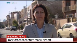 Breaking News: Iraqi forces recapture Mosul airport