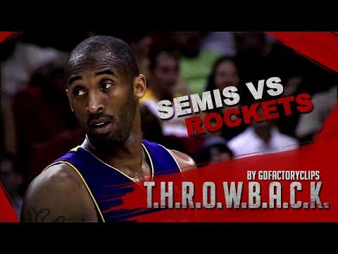 Throwback Kobe Bryant 2009 Playoffs West Semis Series Highlights vs Houston Rockets HD 720