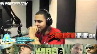 J. Cole Freestyle On Power 99 Over