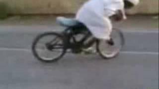 drift arabe con la bici