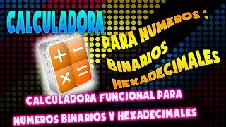 Convertidor con procedimiento para números | Binarios - Hexadecimales | para android 2015