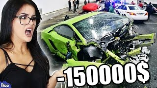 6 MOST EXPENSIVE YouTuber Car Crashes EVER (FaZe Rain, ComedyShortsGamer, Ali A & More!)