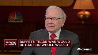 Warren Buffett on China trade talks: Sometimes negotiators need to