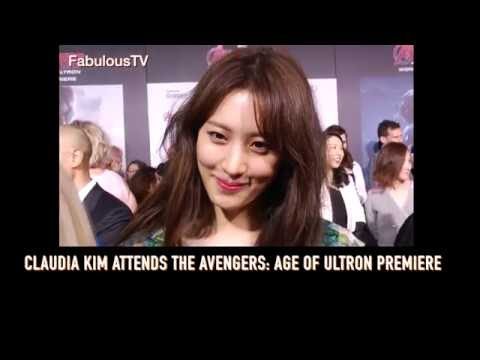 Xxx Mp4 Claudia Kim Attends The Avengers Age Of Ultron Premiere On Fabulous TV 3gp Sex