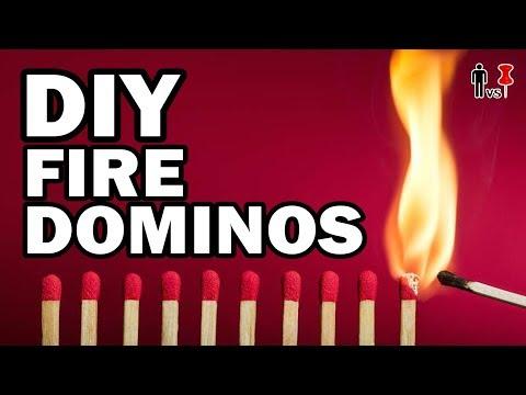 Xxx Mp4 🔥DIY FIRE DOMINOS Man Vs Pin 469 3gp Sex