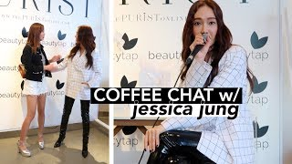 MEETING MY STYLE ICON, JESSICA JUNG: Blanc & Eclare Skincare Launch