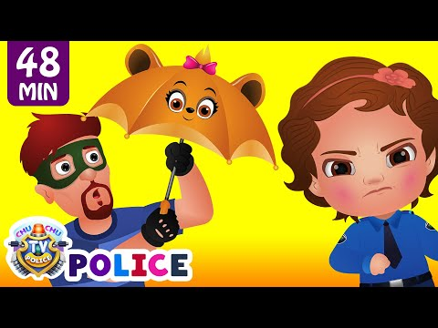 ChuChu TV Police Save The Umbrella Friends of the Kids from Bad Guys ChuChu TV Surprise Eggs Toys