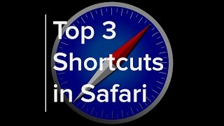 Top 3 Shortcuts in Safari! macOS Sierra