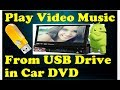 PLAY VIDEO FROM USB ON CAR Stereo DVD Player ✔   Dash DVD systems(Pioneers, JVC, Kenwood)  GET SMART