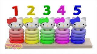 Learn Colors for Kids with 3D Animation by ChupaKids #4 Learn Colors Kitty