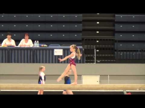 Tilda Norman Artistisk Gymnastik Steg 6 HammarbyCup 2014 05 25
