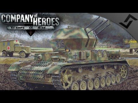SS & Fallschirmjäger vs XXX Corps - Company of Heroes: Europe at War - Market Garden Mission 5