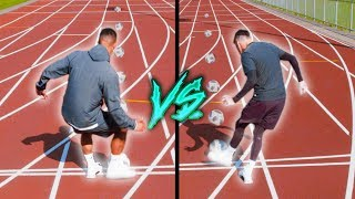 BILLY VS JEZZA | 100 METRE CHALLENGE