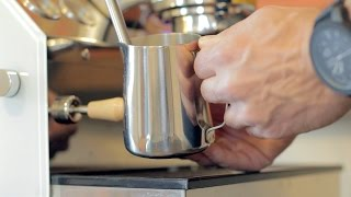 Milk Steaming | One Minute Coffee Tutorial (Almost)