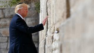 REPLAY - Historique ! Le président américain Donald Trump au mur des Lamentations à Jerusalem