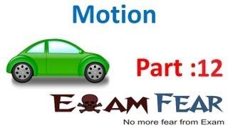Physics Motion part 12 (Equation of motion) CBSE class 9 IX