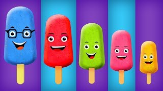 Cake Pop Ice Cream Finger Family Collection The Finger Family Cake Pop Family Nursery Rhymes