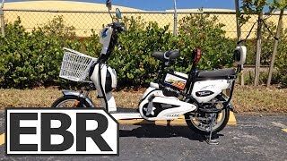 EcoBike New York Video Review - Cheap Scooter Style Electric Bike That's Popular in New York