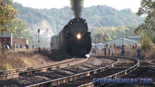 (HD) Union Pacific steam through St. Louis: UP 844 and Challenger 3985