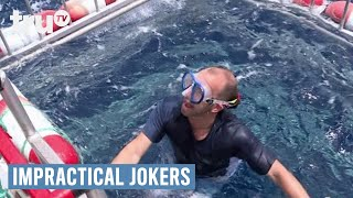 Impractical Jokers - Swimming with the Sharks (Punishment)   truTV
