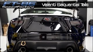 FT86SpeedFactory - Valenti Sequential Tail Lights