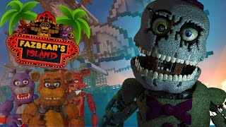 Minecraft - FNAF ISLAND #4 THE GHOST SHIP (Five nights at freddy