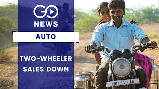 Two-Wheeler Sales Down