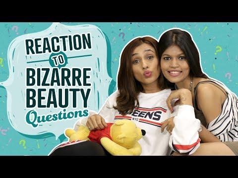 Xxx Mp4 Reaction To Bizarre Beauty Questions Pinkvilla Fashion Beauty 3gp Sex