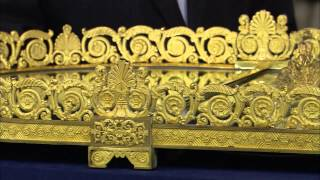 French Regency Gilt Bronze Plateau, ca. 1820 | Manor House Treasures Preview