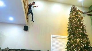 IMPOSSIBLE TREE JUMP!!