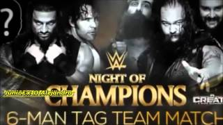 wwe Night Of Champion 2015 highlights destaques