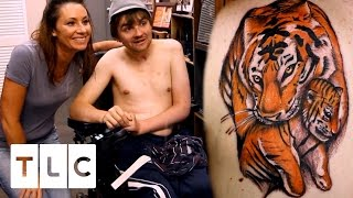 Tattoo of the Tiger that Saved My Life | Tattoo Girls