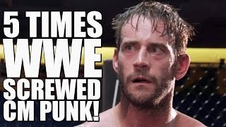 5 Times WWE Screwed CM Punk After He Quit!