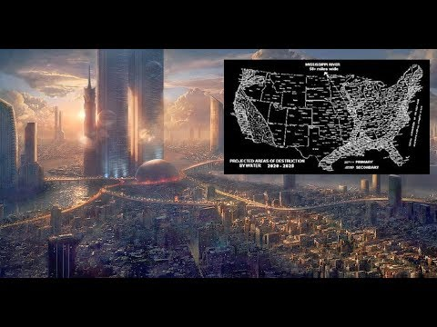 Time Traveler Reveals Map Of The U.S. After Major Catastrophes 2020 2025