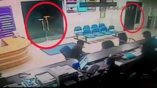 Peristiwa Mistis Di Kantor Polisi Malaysia Terekam Kamera CCTV