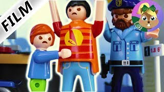 بلايموبيل فيلم  - معركة فى قسم الشرطة! جوليان يضرب جوليان الكبير! عائلة الطيور للاطفال