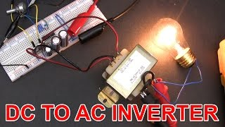 ⚡ Don't build this 12V DC to 120V AC inverter circuit.